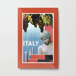 Travel to Italy in 1935 Metal Print