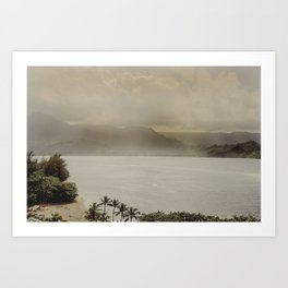 Vintage Hawaii 2 Art Print