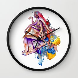 High on Love Wall Clock