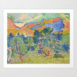 Good Mountain by Henri Matisse Art Print