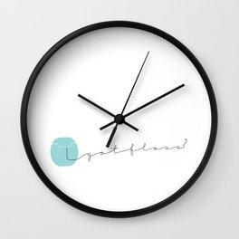 Got Floss? Wall Clock