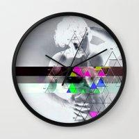 apollo Wall Clocks featuring my apollo by Robert Alan