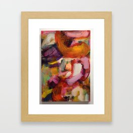 In field dance of a new mind Framed Art Print