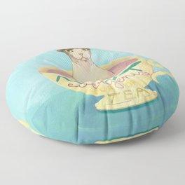Not Everyone's Cup Of Tea - Sphynx Cat - Part 5 Floor Pillow