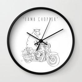 'Lamb Chopper' Wall Clock