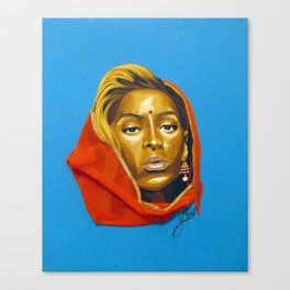 bey:Indian Canvas Print