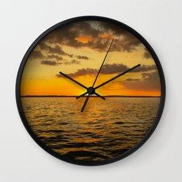 Caribbean Sunset Wall Clock