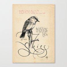 Bird 04 Canvas Print