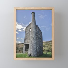 WHEAL BETSY MINE ENGINE HOUSE DARTMOOR Framed Mini Art Print