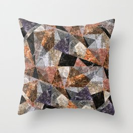 Marble Texture G428 Throw Pillow