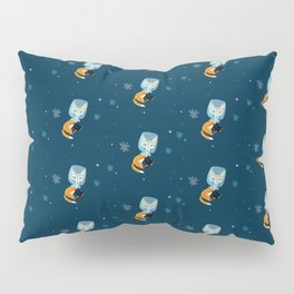 I´m not star fox (Pattern) # dark blue Pillow Sham