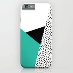 Geometric Modern Triangles with Spots Slim Case iPhone 6s