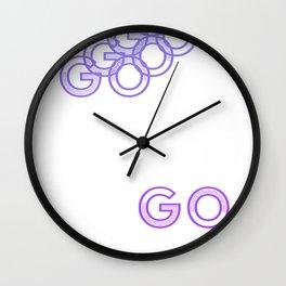 get up & Wall Clock