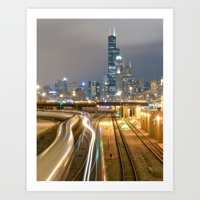 Chicago Electric  Art Print
