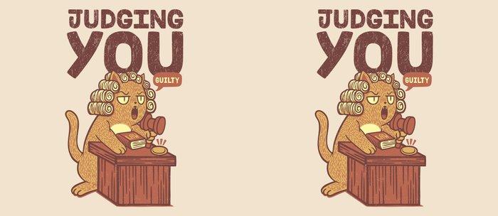 I'm Judging You Cat T-Shirt Coffee Mug