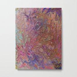 Abstract Art, Fairy Wings, Colorful digital art Metal Print