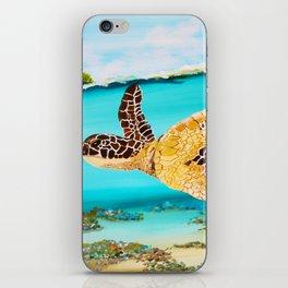 Swimming Free iPhone Skin