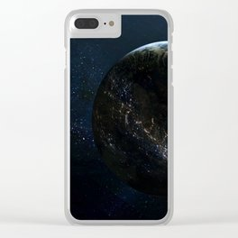 Earthlings Clear iPhone Case
