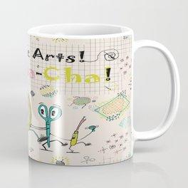 Needle Arts! Cha-Cha-Cha! Coffee Mug