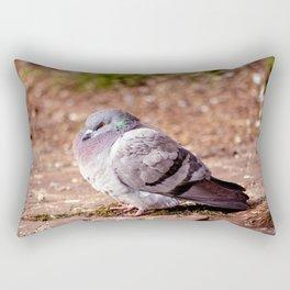 Concept nature : The watchful dove Rectangular Pillow