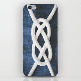 sailor knot iPhone Skin
