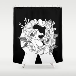 Natural Woman Shower Curtain