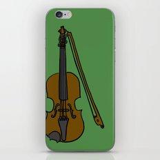 Fiddle iPhone & iPod Skin