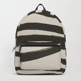Painted Zebra Backpack