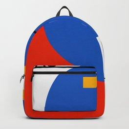 Bau Haus - Retro Bauhaus Drawing - art, interior, drawing, decor, design, bauhaus, abstract, decorat Backpack