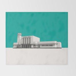 Surbiton Station Throw Blanket