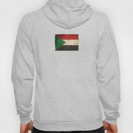 Old and Worn Distressed Vintage Flag of Sudan Hoody