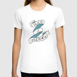 Suck it, Nerds Hand Lettered 30 Rock Liz Lemon quote T-shirt