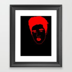 I __ Rock Framed Art Print