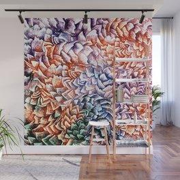 Artichokes and Pangolins Bright Wall Mural