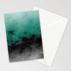 Zero Visibility Emerald Stationery Cards