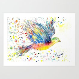 Wings II Art Print