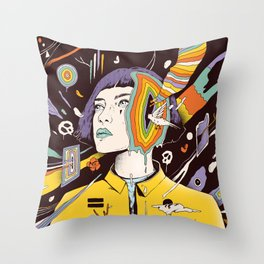 The Overthinker Throw Pillow