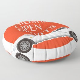 Midship Open Sports Floor Pillow