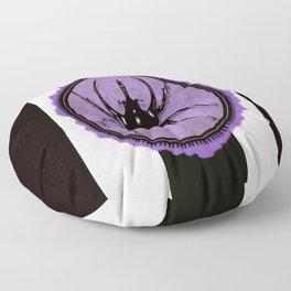 Juicy Beetle PURPLE Floor Pillow