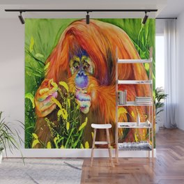 Mindful Eating Wall Mural