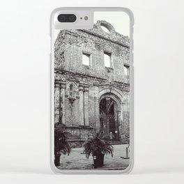 Santo Domingo Clear iPhone Case