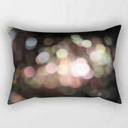 Bubbly Bokeh Rectangular Pillow