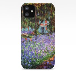 Claude Monet The Artist's Garden at Giverny iPhone Case