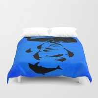 under the sea Duvet Covers featuring Under the sea by Durro