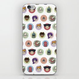 Planet Express Crew iPhone Skin