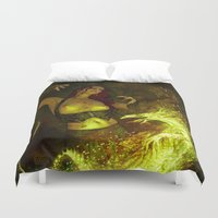 witchcraft Duvet Covers featuring Witchcraft by Pinturero