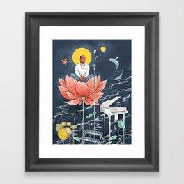 GOOD NEWS - MAC MILLER Framed Art Print