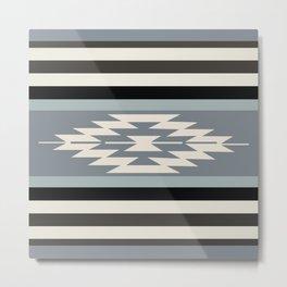 American Native Pattern No. 166 Metal Print
