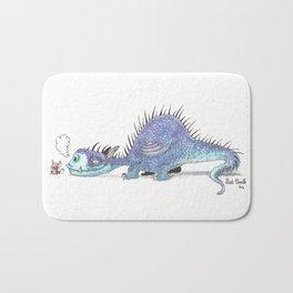 Dragon et souris Bath Mat