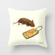 iTrap Throw Pillow